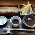 蕎麦と日本料理 驚 KYO - 天ぷらセイロ(1,628円)