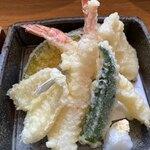 蕎麦と日本料理 驚 KYO - 天ぷらのアップ