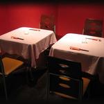 バニーズ カフェ - テーブル席1