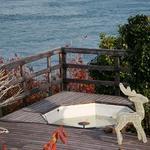 海の見えるカフェ - オープンデッキ
