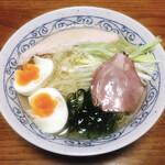 麺堂HOME - カマス煮干しの冷やしそば(塩)