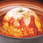 十六雑穀米オムライス&炭焼きハンバーグ専門店 おむらいす亭 -