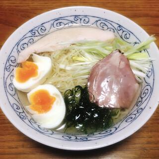 麺堂HOME - 料理写真:カマス煮干しの冷やしそば(塩)
