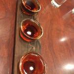翠鳳 - 紹興酒飲み比べ