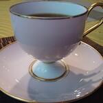 さくらリビング - 二杯目の珈琲、碗皿は「ノリタケ」