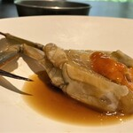 134855990 - 『渡り蟹』三種類の紹興酒に漬け込んだ味わいは、もう何とも言えない美味しい逸品です♪