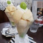 カノンコーヒー - 料理写真:桃パフェ♡