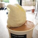 ジェラテリア レガリーノ - 料理写真:マスカルポーネ&チョコレート