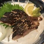 酒蔵 強三 - 炙り〆鯖