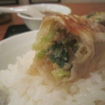 開々亭 - 餃子on the rice !
