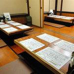 鍛冶屋 文蔵 - お座敷は10名様ごとの個室になります。最大30名様まで
