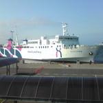 13487656 - 稚内港に入船