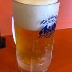 中華飯店 - ドリンク写真:生ビール中550円
