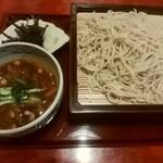 旭庵 甚五郎 - 料理写真:田舎もりそば(大盛り)
