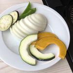 プレミアムサフォークダイニング シズオ - 焼肉の野菜