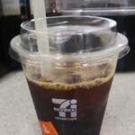 セブンイレブン - ドリンク写真:7カフェ アイスコーヒーR