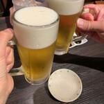 134875758 - 珍しく旦那さんもビール