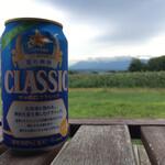 薫風舎 - ドリンク写真:デッキより。 ビールがより美味しく感じられます。