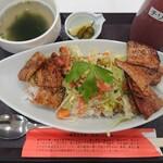 豚丼のぶたはげ - 料理写真:夏野菜のサルサ風豚丼 950円