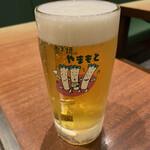 134887929 - 生ビール、中
