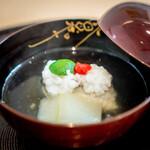 青草窠 - 冬瓜と鱧のお椀