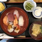寿しの喜多八 - 空からにぎり寿司ランチ
