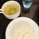 134889669 - ライス&スープ付き