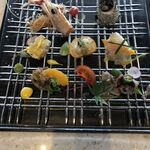 鉄板焼き 七里ガ浜 - 前菜プレート