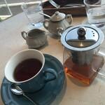 鉄板焼き 七里ガ浜 - お紅茶