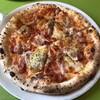 ナポリのかまど 小麦の郷 - 料理写真:粗挽きソーセージのピリ辛ピッツァ