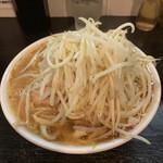 豚星。 - 【2020.8.14】えび蕎麦1000円+豚増し200円