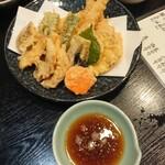 いとう - 天ぷら盛り合わせ(すべて美味しい)