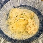 まんぷく - 鶏出汁スープの和風塩冷麺