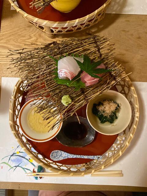 せき亭の料理の写真