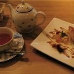 1349113 - チーズスフレと紅茶