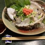 山喜寿司 - 岩がきポン酢