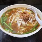 万福 - 料理写真:味噌ラーメン550円