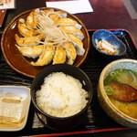 五味八珍 - 浜松餃子定食