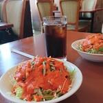 クルサーニ蒲郡 - このオレンジのどろどろドレッシング、美味しい