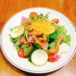 134909953 - 有機野菜のサラダ