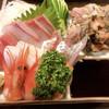 きらく亭 - 料理写真:刺身盛り合わせ
