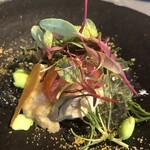 kufuku - 甘海老とカラスミのタルタルと湯葉
