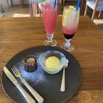 アランチャ - ドルチェとジュース