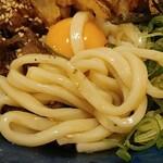 えびすやうどん 博多 - 麺