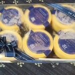 ル・ジャルダン・ブルー - クレームキャラメル6個 1,730円(税込:以下同)