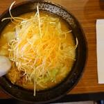 北のれん - 料理写真:からネギ味噌ラーメン