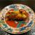 鮨旬美西川 - 料理写真:海老の頭の炭火焼き
