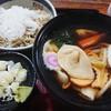 野村屋本店 - 料理写真:耳うどんと大根そばのセット