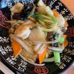 栄盛 - 中華丼