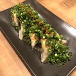 新橋二丁目九番地 らんたん - 味噌ダレ餃子
